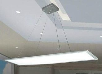 Screwless LED Flat Panel Light 48W 1200x300 Suspended LED Panel TUV-GS Listed